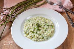Risotto agli asparagi selvatici ricetta semplice