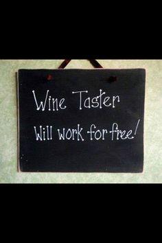 Wine taster...
