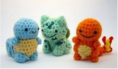 knitted pokemon! want one