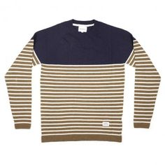 Norse Projects Borderline knit-camel