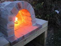 how to make a pizza oven... Mmmmmm the thought is making me hungry!