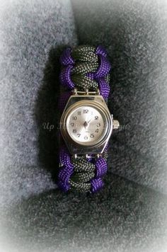 Paracord Watch by UpTheBranchDesigns on Etsy, $20.00