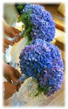 Beautiful Hydrangea bouquet.