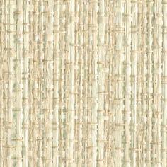 Bone White Woven Rattan a Paper Weave 1862 - Phillip Jeffries