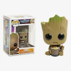 Funko Pop Groot Candy Bowl Guardianes de la Galaxia Volumen 2 - Exclusiva