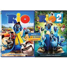 Rio / Rio 2 (Walmart Exclusive) (Widescreen)