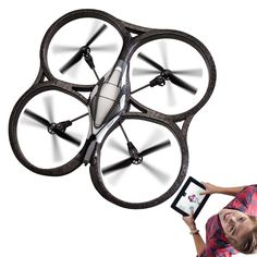 Ipad controlled drone