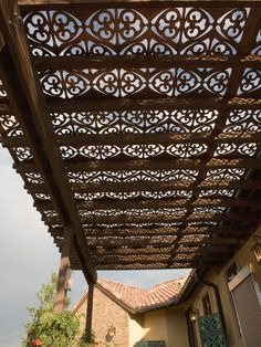 Parasoleil patterns - light-filtering sun shade for all weather conditions