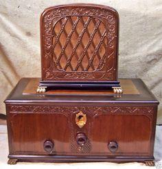 1928 Kolster K-20 Early AC Radio with Matching Speaker