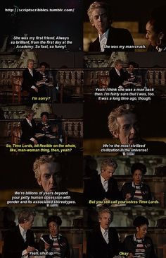 "Bill: ""You still call yourselves Time Lords"" - Doctor Who: World Enough and Time, series 10"