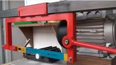 Build a Powered Hacksaw Plans | cool tools | Pinterest ...