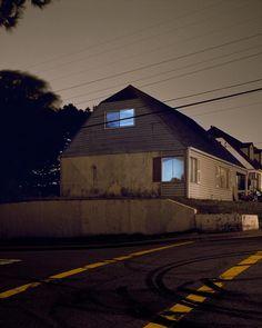 Homes at night # 2133 by Todd Hido [1996]