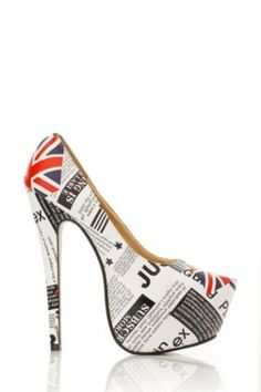 74ae6102006b Uk Print Faux Leather Pump   Cicihot Heel Shoes online store sales Stiletto Heel  Shoes
