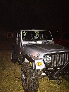 My Jeep Wrangler Unlimited LJ