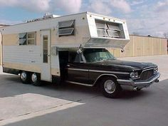 Old motor home conversion