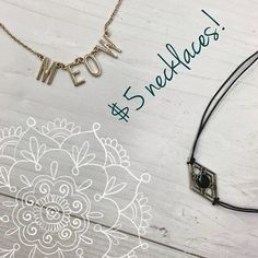 Currently have tons of cute necklaces @ our HH location! From simple and dainty to statement and bold we got you! Most are $5! http://ift.tt/2diZjBs - http://ift.tt/1HQJd81