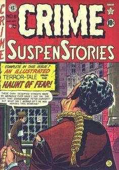 Crime Comics, Ec Comics, Creepy Comics, Horror Comics, Vintage Comic Books, Vintage Comics, Vintage Art, Tales From The Crypt, Horror Themes