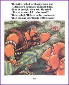 Paul and Silas in Prison (Story) - Kids Korner - BibleWise