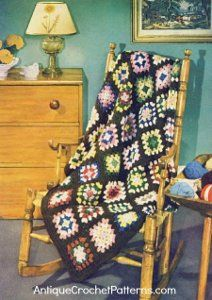 Everyone's Favorite Afghan | AllFreeCrochet.com Ah yes I have one my mom made and I treasure it!  One of these days I'll make one for my son!