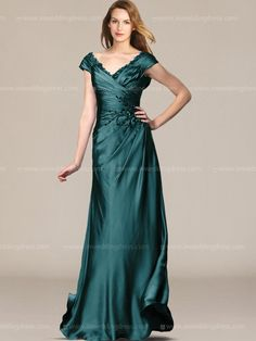 Mother of the Bride Long Dresses_Teal