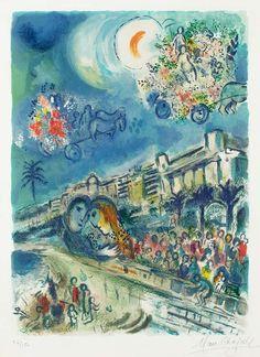 CHAGALL, Marc France(1939-1942)_Bataille de Fleurs