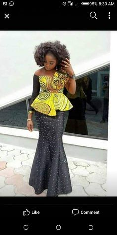 African fashion is available in a wide range of style and design. Whether it is men African fashion or women African fashion, you will notice. African Fashion Designers, Latest African Fashion Dresses, African Dresses For Women, African Print Dresses, African Print Fashion, Africa Fashion, African Attire, African Women, African Prints