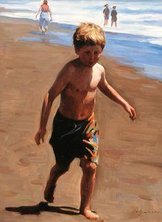 Walk In Sea Bank Canvas Prints Canvas Prints, Painting, Canvas Painting, Prints, Cheap Canvas Prints