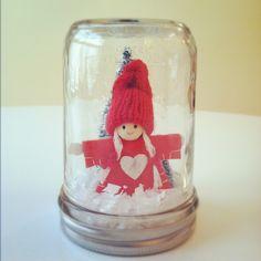 Scandi Girl Christmas Decoration