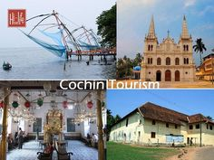 Discover a city bearing the marks of bygone eras with Cochin Tourism. Kerala Tourism, Hill Station, Kochi, West Coast, Attraction, Taj Mahal, Tours, Mansions, House Styles