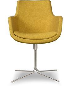 Op HomeDeco vind je de beste prijs voor een Bailey - Eetkamerstoel - Geel en nog veel meer stoelen. Nu te koop bij voor !