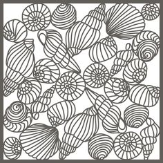 <p> Seashells delicate papercut page, background or stencil. Summery nature design, great for scrapbooking, or as a stencil. 12x12 SVG or 11.75 sized for Cricut.</p> <p> Try cutting from vinyl for wall art.</p>