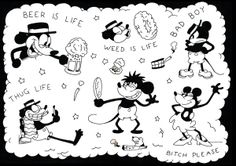 Mickey Mouse flash 2 by sylvester boom