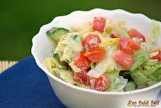 Ezt fald fel!: Egészséges nyári saláta Fresh Rolls, Guacamole, Potato Salad, Potatoes, Ethnic Recipes, Food, Potato, Essen, Meals