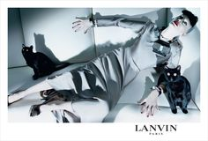 Kirsten McNemany for Lanvin, shot by Steven Meisel