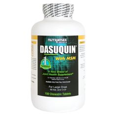 Nutramax Dasuquin with MSM Chewable Tablets for Dogs -- Startling review available here  : Dog supplies for health