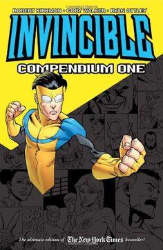 Invincible Compendium Volume 1 TP by Robert Kirkman http://www.amazon.co.uk/dp/1607064111/ref=cm_sw_r_pi_dp_1Jg2vb1E5A9FR