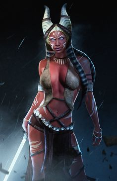 "BossLogic Twitterissä: ""Here is @rosariodawson as a Ahsoka Tano x Shaak Ti fusion for some fun (So there is no confusion :P ) https://t.co/DVoATrOZLL"""
