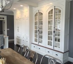 Kitchen and Dining Room flow seamlessly into one another  Design Detail  Dining  Kitchen  American  Architectural Details  TraditionalNeoclassical by Kate Nelson Interiors