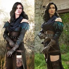 Yennifer from WITCHER3 come to life! FLAWLESS Cosplay by TAHNEE HARRISON (@LoveTahnee)  photography by @Jhaasphoto.