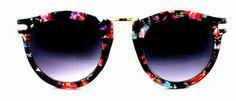 Naya Metal Accented Designer Sunglasses - 150 Floral - More Colors