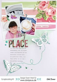 #papercrafting #scrapbooking #layout - My place by AnkeKramer at @studio_calico
