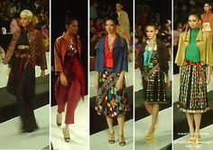 tenun fabrics, indonesia