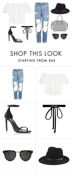 """""""casual."""" by lilystypayhorlikson ❤ liked on Polyvore featuring Topshop, Valentino, Yves Saint Laurent, Joomi Lim, Spitfire, rag & bone and Givenchy"""
