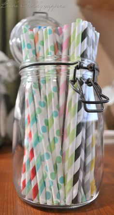 love these paper straws! :D