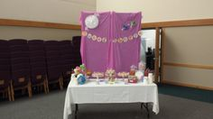 Candy Buffet at the Candy Land First Birthday Party