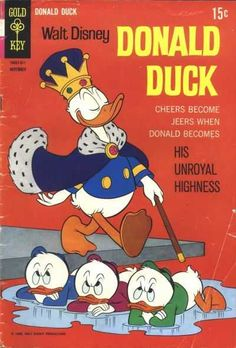 Donald Duck #122 - His Unroyal Highness (Issue)