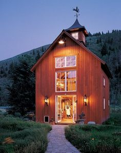 Old Barn Made Into House My Dream House Dream Home Pinterest