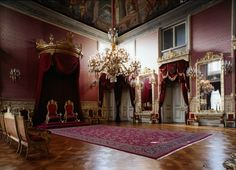 Throne room_Ajuda Palace_Lisbon
