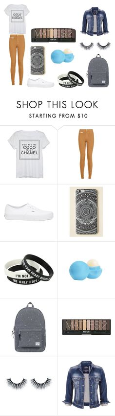 #2 by mili-gaarcia on Polyvore featuring moda, Chanel, maurices, Parisian, Vans, Herschel Supply Co. and Eos