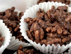 Copha-Free Chocolate Crackles >> I Quit Sugar ~ Who wants to enjoy these chocolate crackles with your kids?! Make them now and treat them as occasional snacks! #IQSKidsCookbook #sugarfree